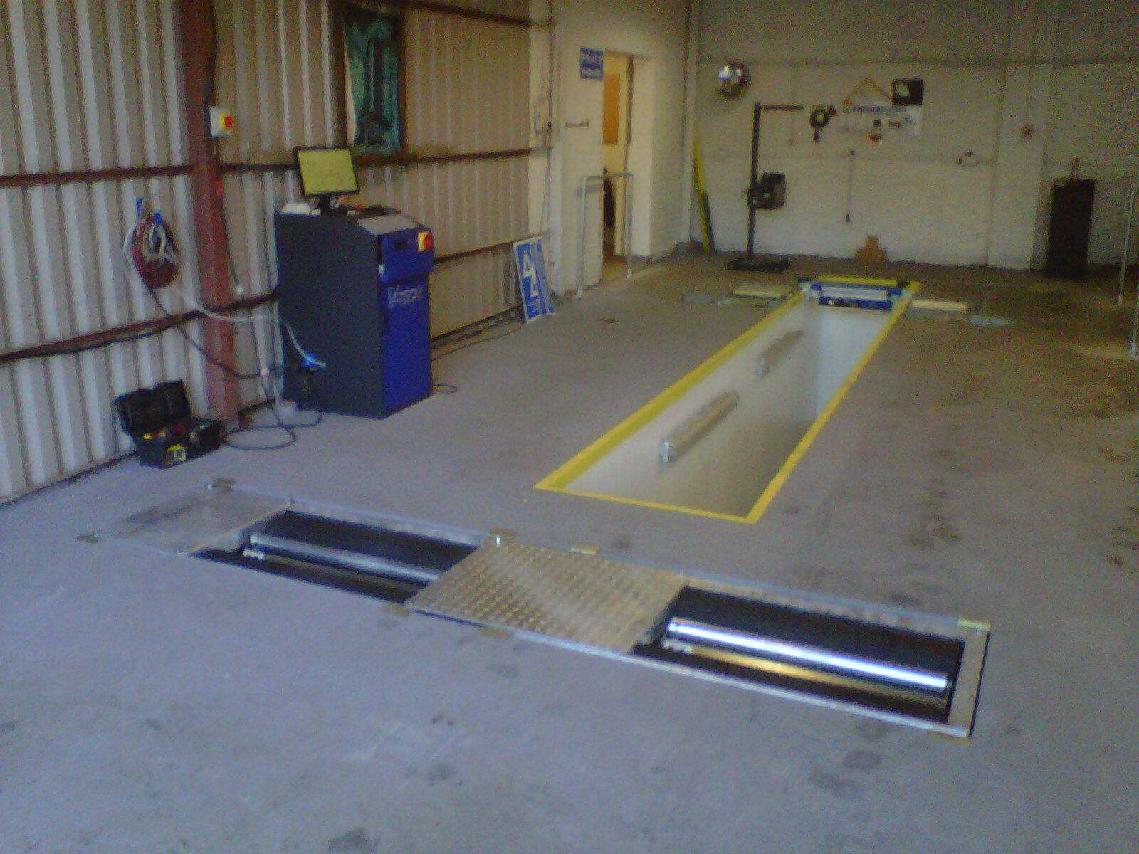 Garage Equipment Installation photos of 2013   V-Tech UK ...